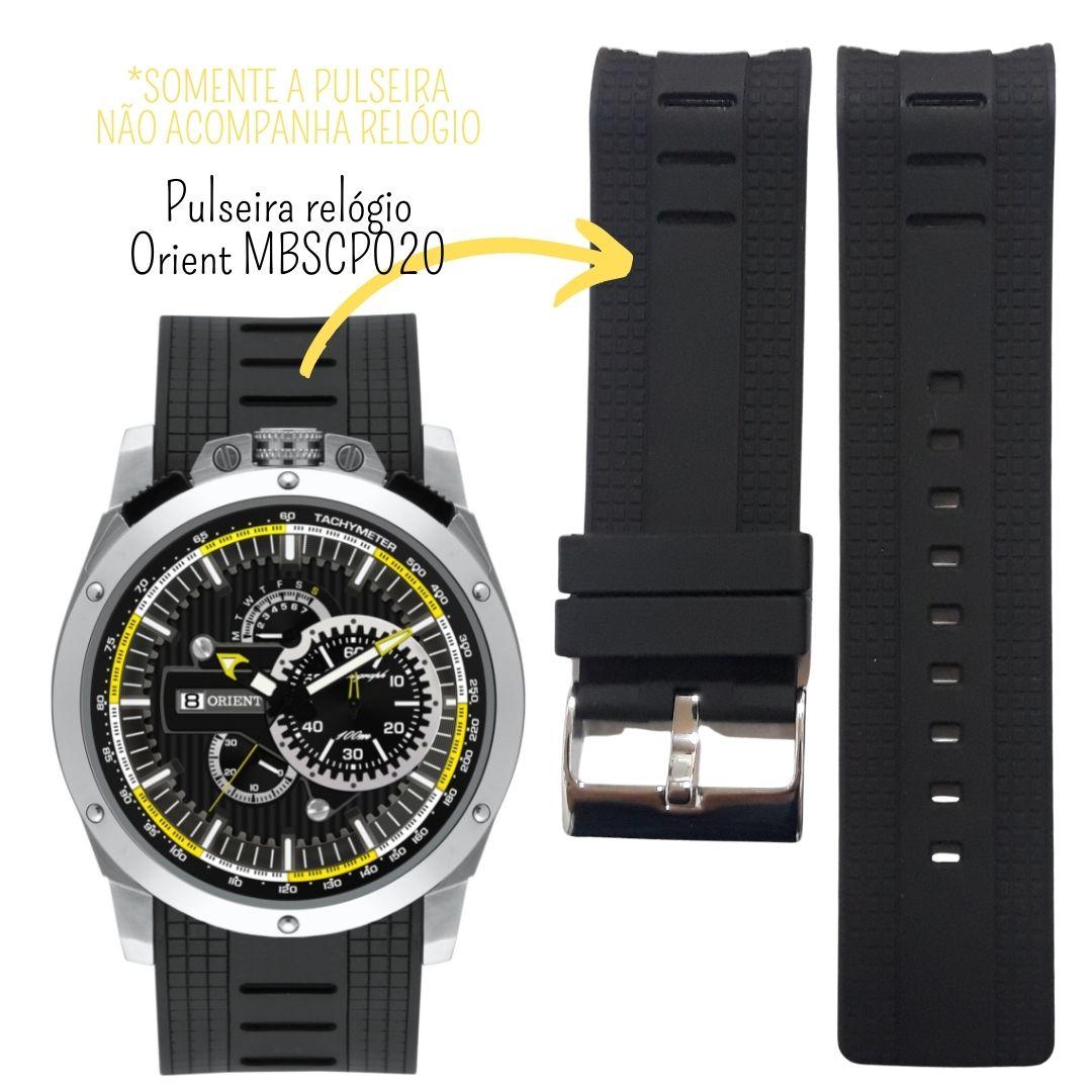 Pulseira Relógio Orient MBSPC020