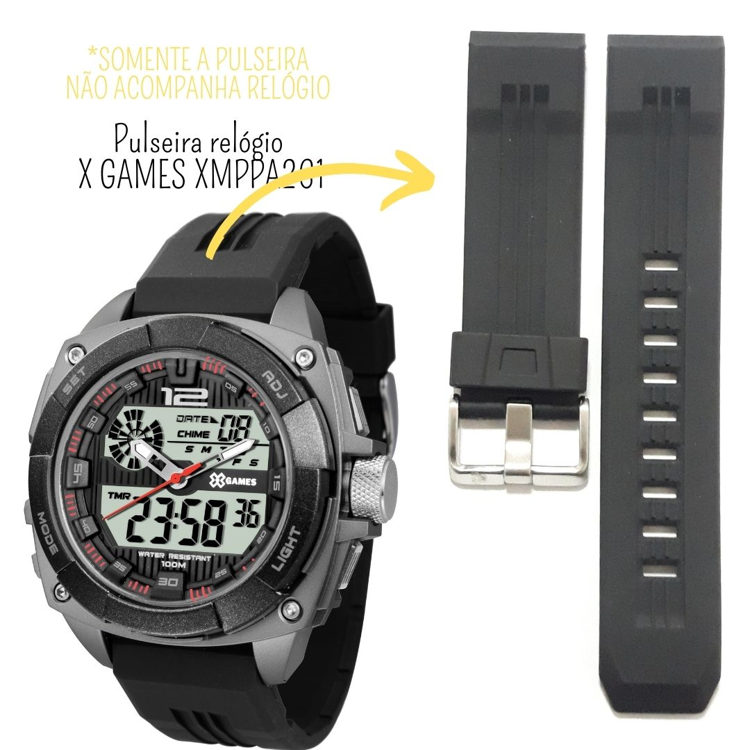 Pulseira Relógio X-Games XMPPA261