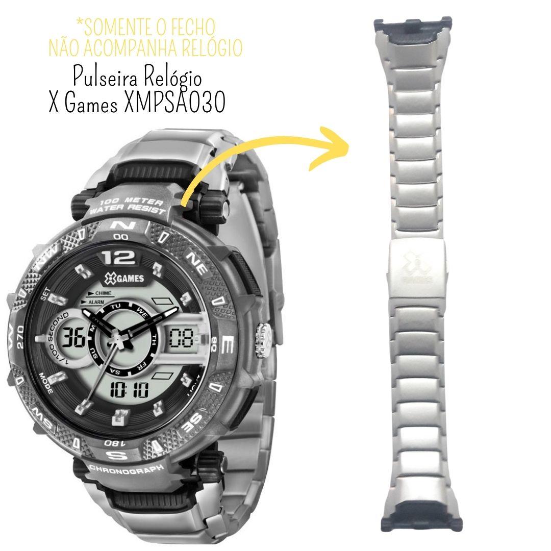 Pulseira Relógio X-Games XMPSA014, XMPSA029, XMPSA030