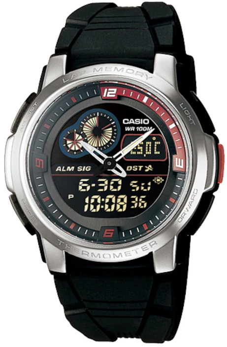 Relógio Casio AQF-102W-1BVDF