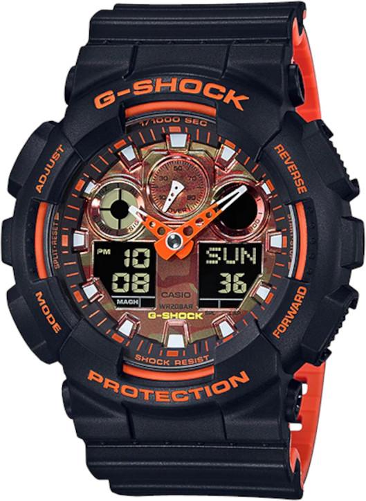 Relógio Casio G-SHOCK GA-100BR-1ADR