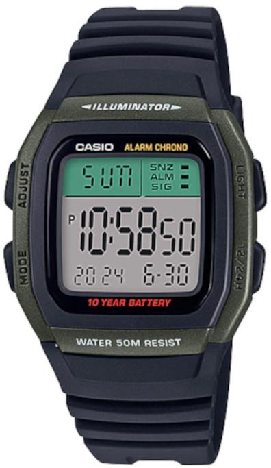 Relógio Casio W-96H-3AVDF
