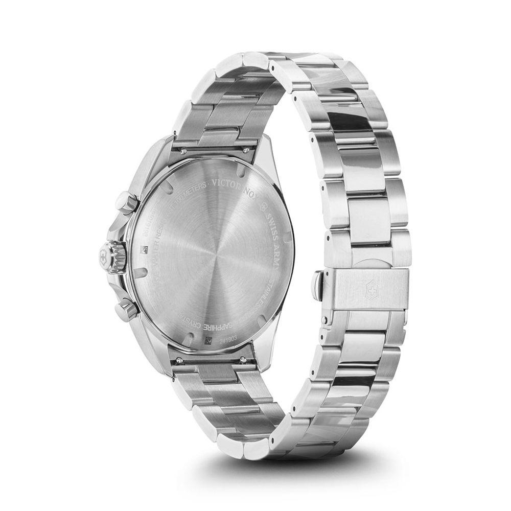 Relógio Masculino Victorinox Fieldforce Classic Chronograph Azul 241901