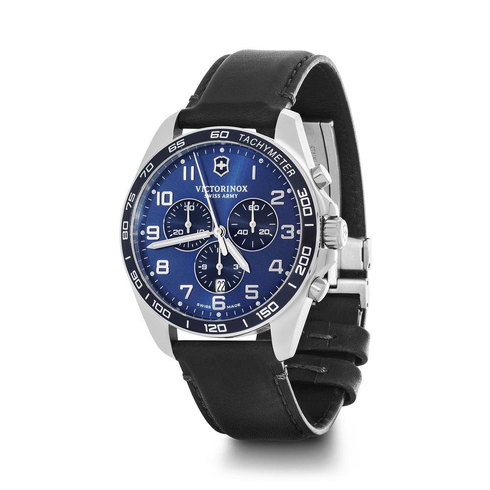 Relógio Masculino Victorinox Fieldforce Classic Chronograph Azul 241929
