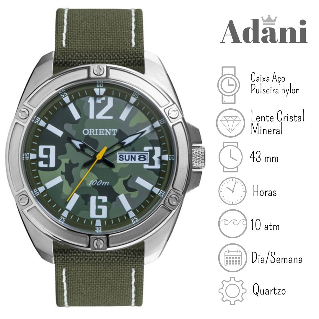 Relógio Orient MBSC2009 E2EX