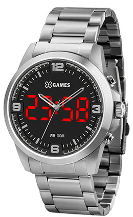 Relógio X GAMES XMSSA009 P2SX