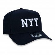 BONÉ 9FORTY A-FRAME ABA CURVA AJUSTÁVEL MLB NEW YORK YANKEES ESSENTIALS FLAG