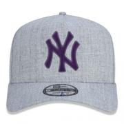 Boné New Era New York Yankees 940 AF Veranito Cinza e Roxo