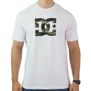 Camiseta Dc Shoes Logo Camuflado