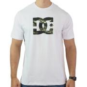 Camiseta Dc Shoes Logo Camuflado - Original