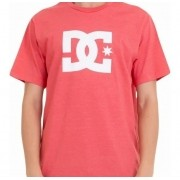 Camiseta Dc Shoes Star Rosa