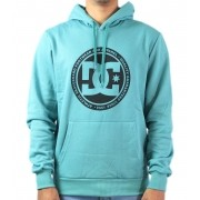 Moletom Flanelado Fechado Dc Shoes Circle Back Azul