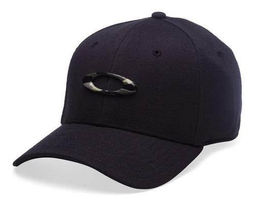 Boné Masc Mod Tincan Cap Oakley - Logo Camuflado
