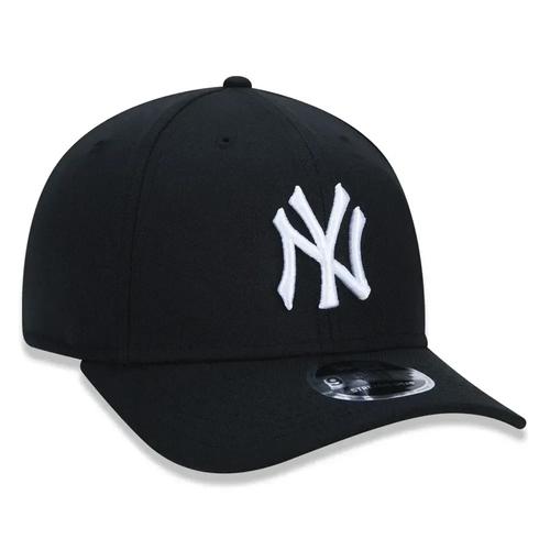 Boné New Era Aba Curva 940 SN MLB NY Yankees Stretch Preto