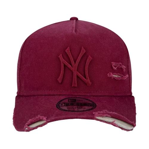 Boné New Era Aba Curva 940 ST MLB NY Yankees AF Destroyed