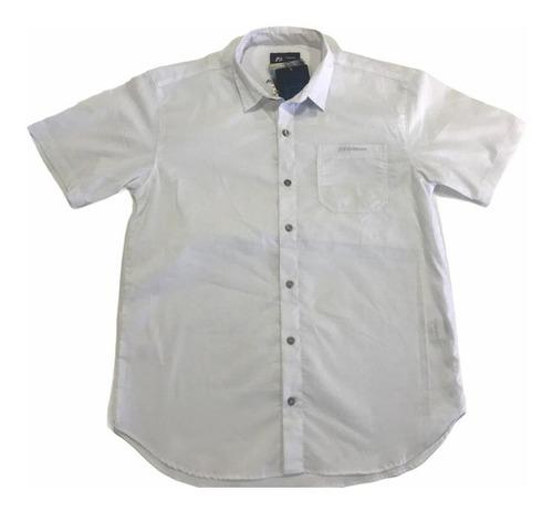 Camisa Masculina Freesurf Branco Ferias