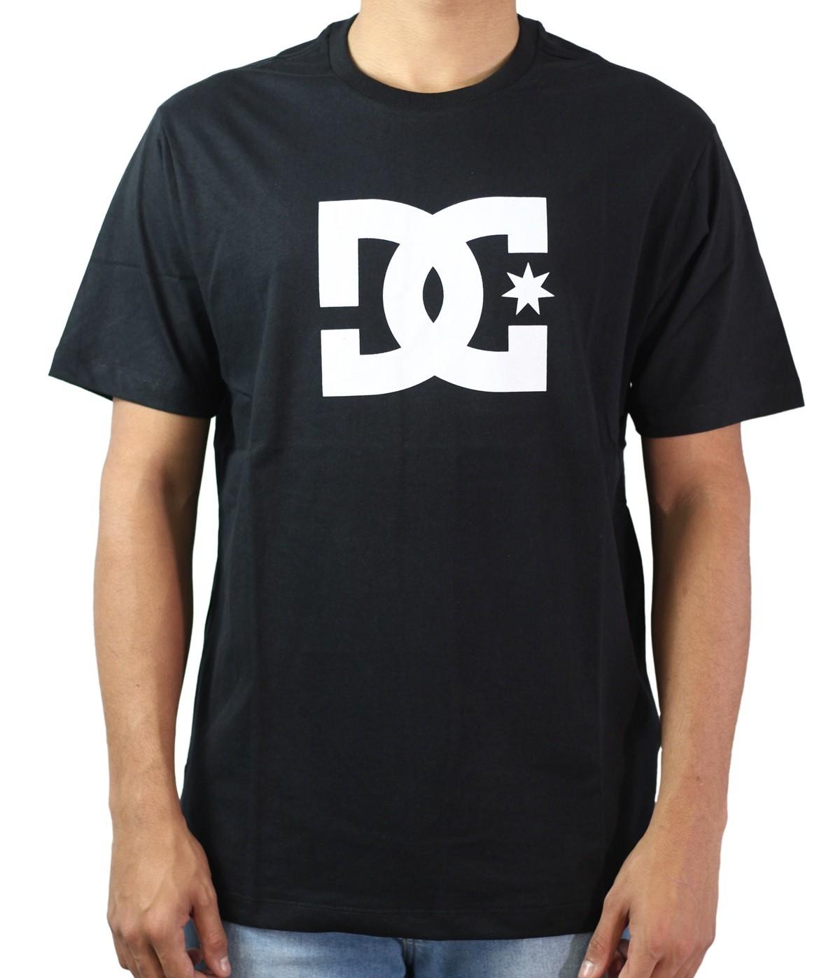Camiseta Dc Shoes Logo Branco