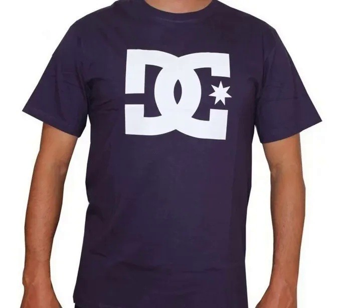 Camiseta Dc Shoes Star Purple Rain