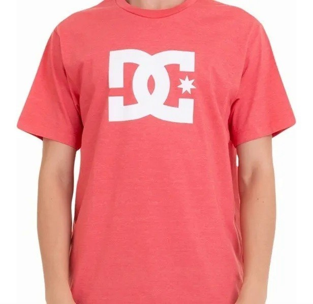 Camiseta Dc Shoes Star Rosa