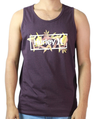 Camiseta Regata Hurley -639091a - Original