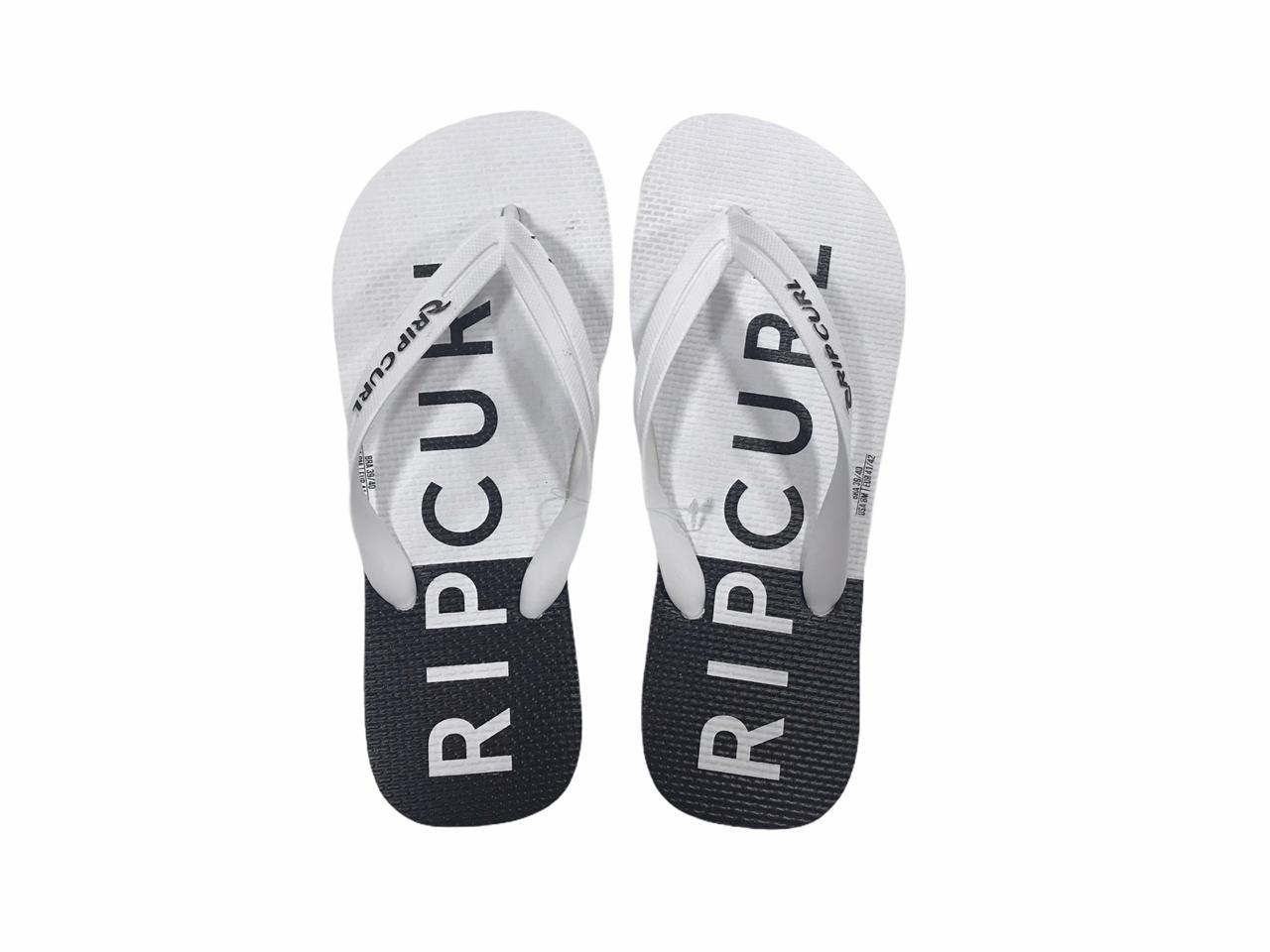 Chinelo Rip Curl Half - Flip Flop Branco e Preto