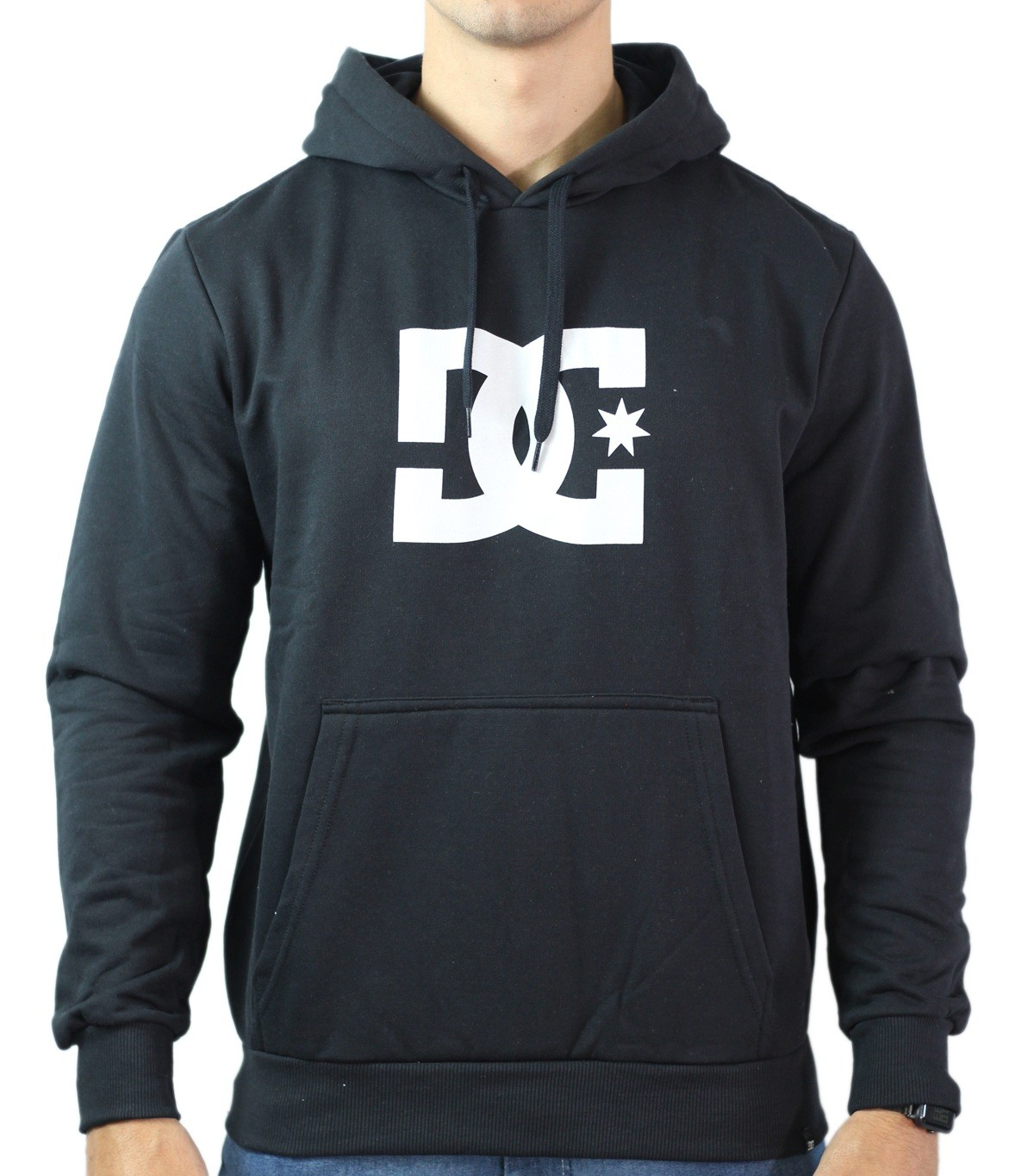 Moletom Dc Shoes Star Masculino - Preto