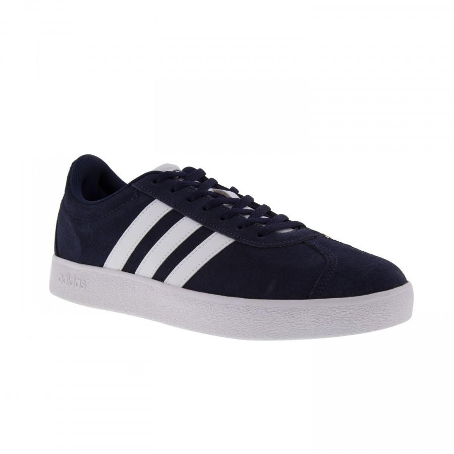 Tênis Adidas Vl Court 2.0 Masculino - Preto e Cinza