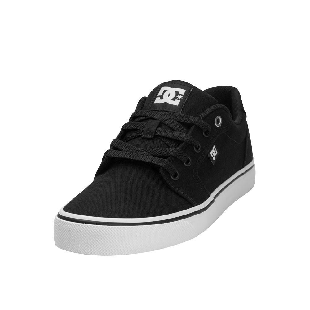 Tênis Dc Shoes Anvil Tx La - Preto