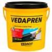 Impermeabilizante à Base de Asfalto Vedapren 3,6 Litros - Caixa com 4 - Vedacit