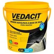 Primer Asfáltico Eco Emulsão Vedacit Base Agua 3,6 Litro
