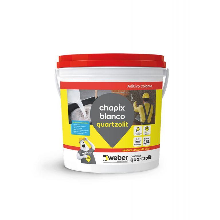Chapix Blanco 3,6L Quartzolit