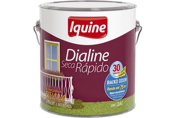 Esmalte Sintético Premium Dialine Seca Rápido 3,6L Iquine