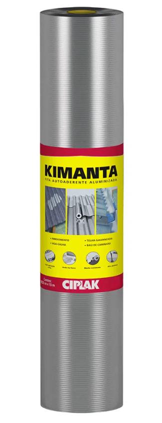 Manta Alumínio Auto Adesiva 100cmx10m Ciplak
