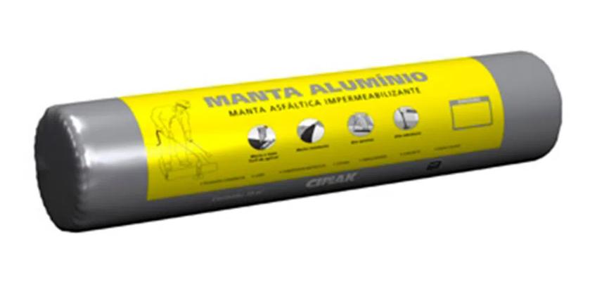 Manta Asfáltica Alumínio 3mmx10m PP Ciplak