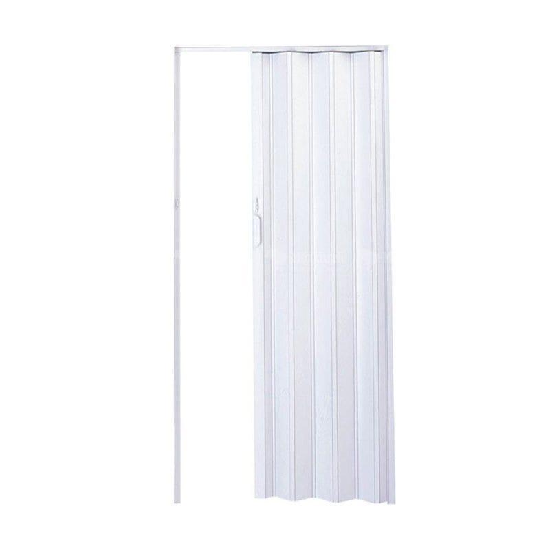 Porta Sanfonada PVC Branca 2,10x0,72 Plasflex