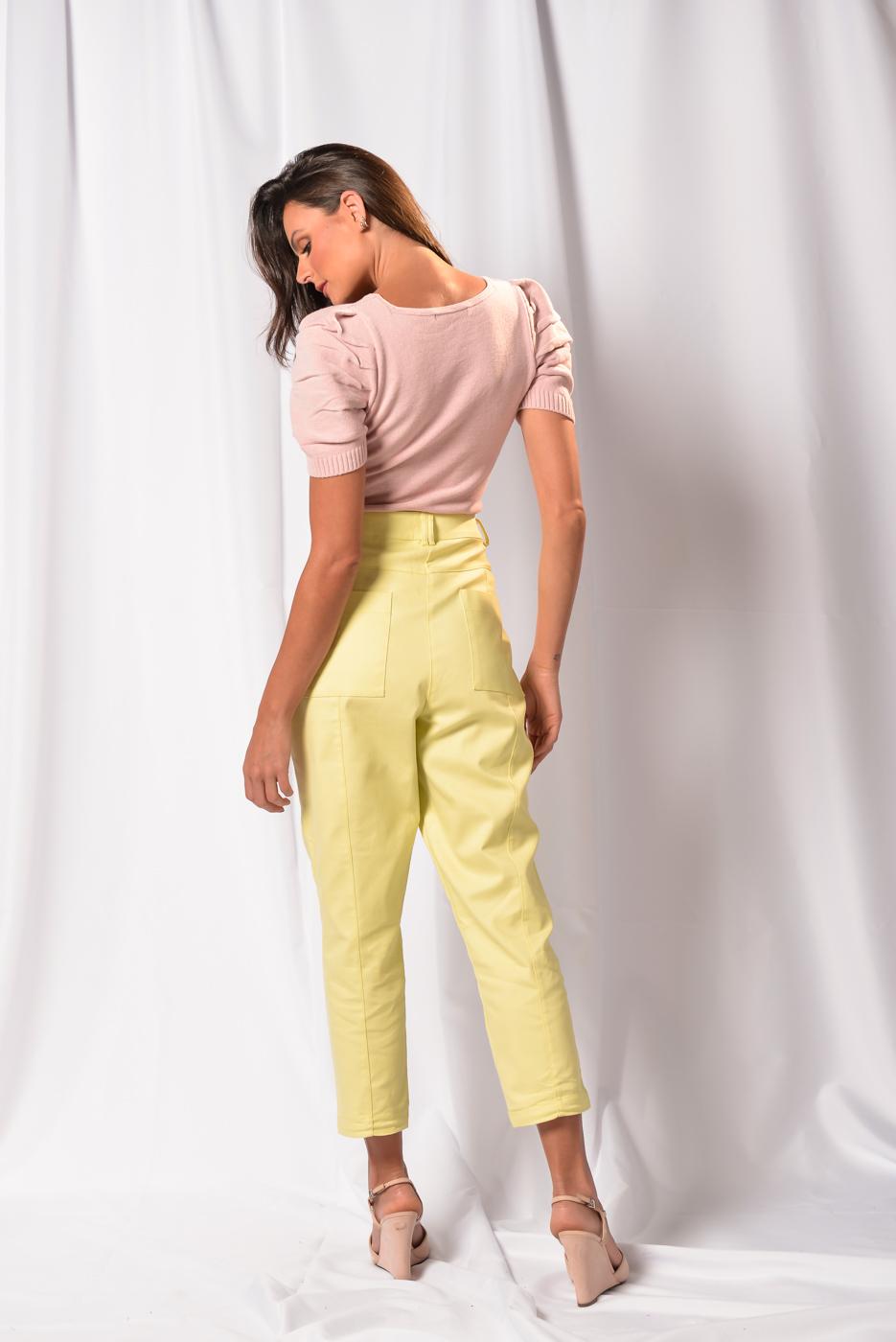 Blusa  em tricot Maisa