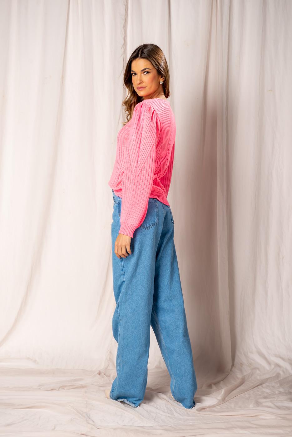 Calça Jeans Wide leg Camila