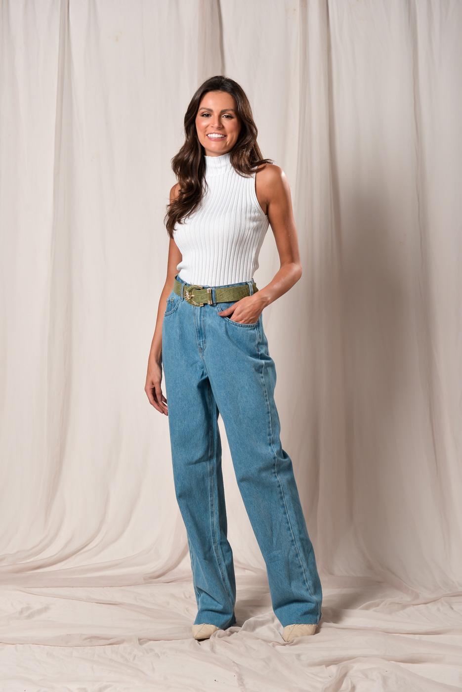 Calça Jeans Melissa