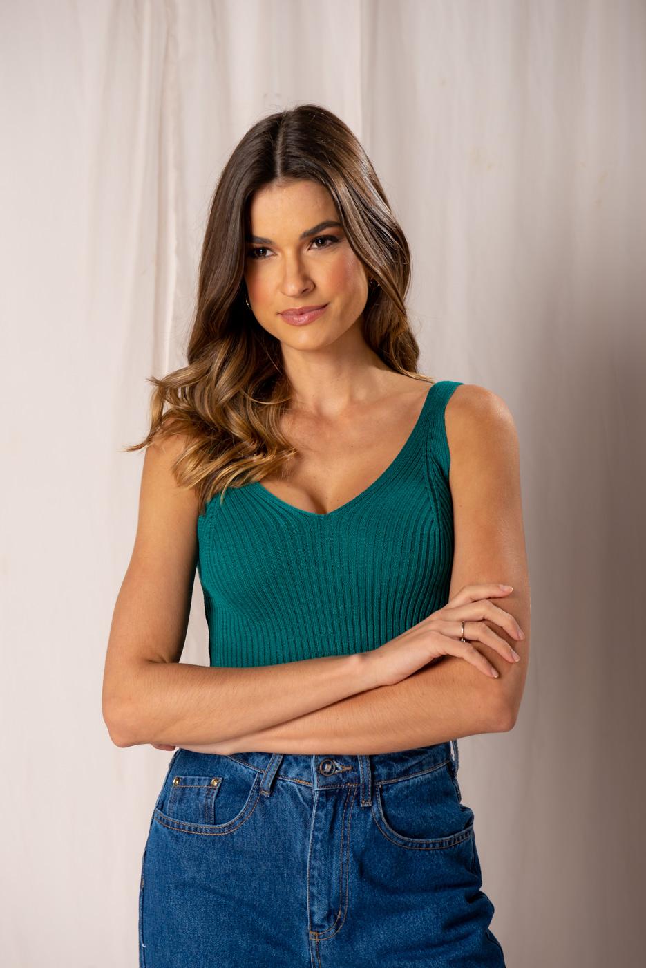 Camiseta Tricot  Juliana