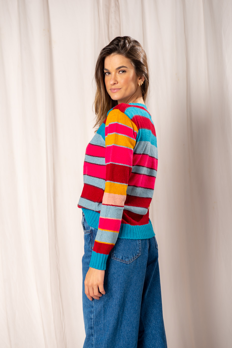 Casaco tricot Amore