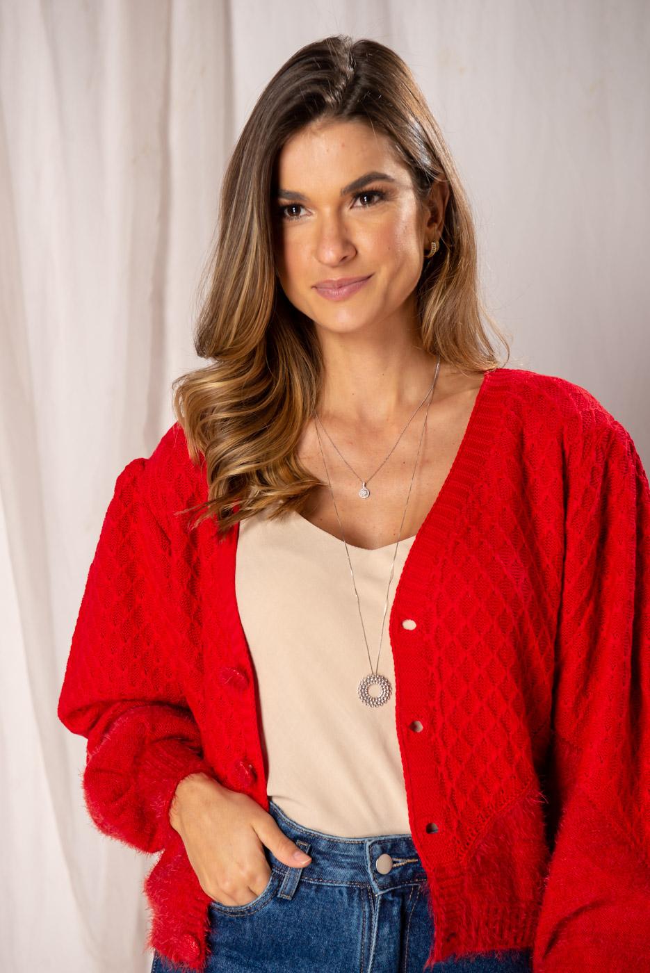 Casaqueto em tricot Roberta