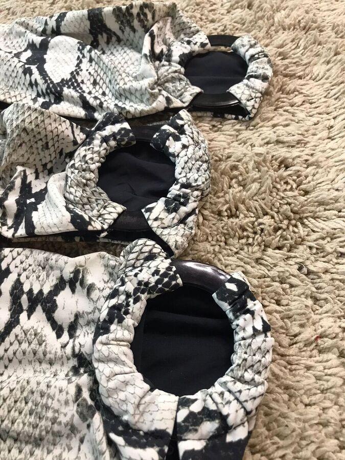 Maiô Animal Print Estampa de Cobra