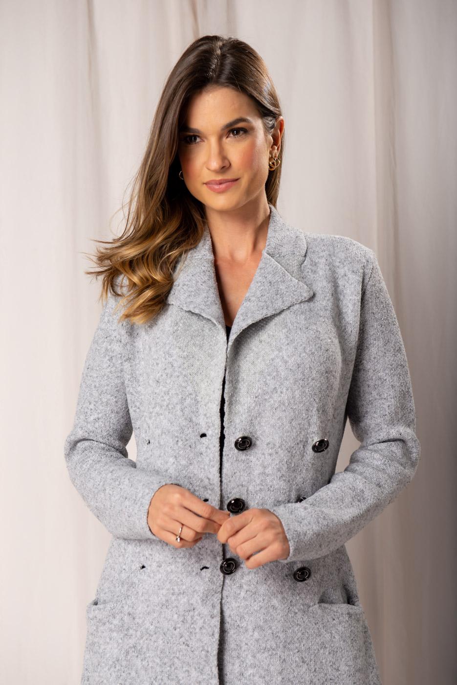 Sobretudo tricot Mary
