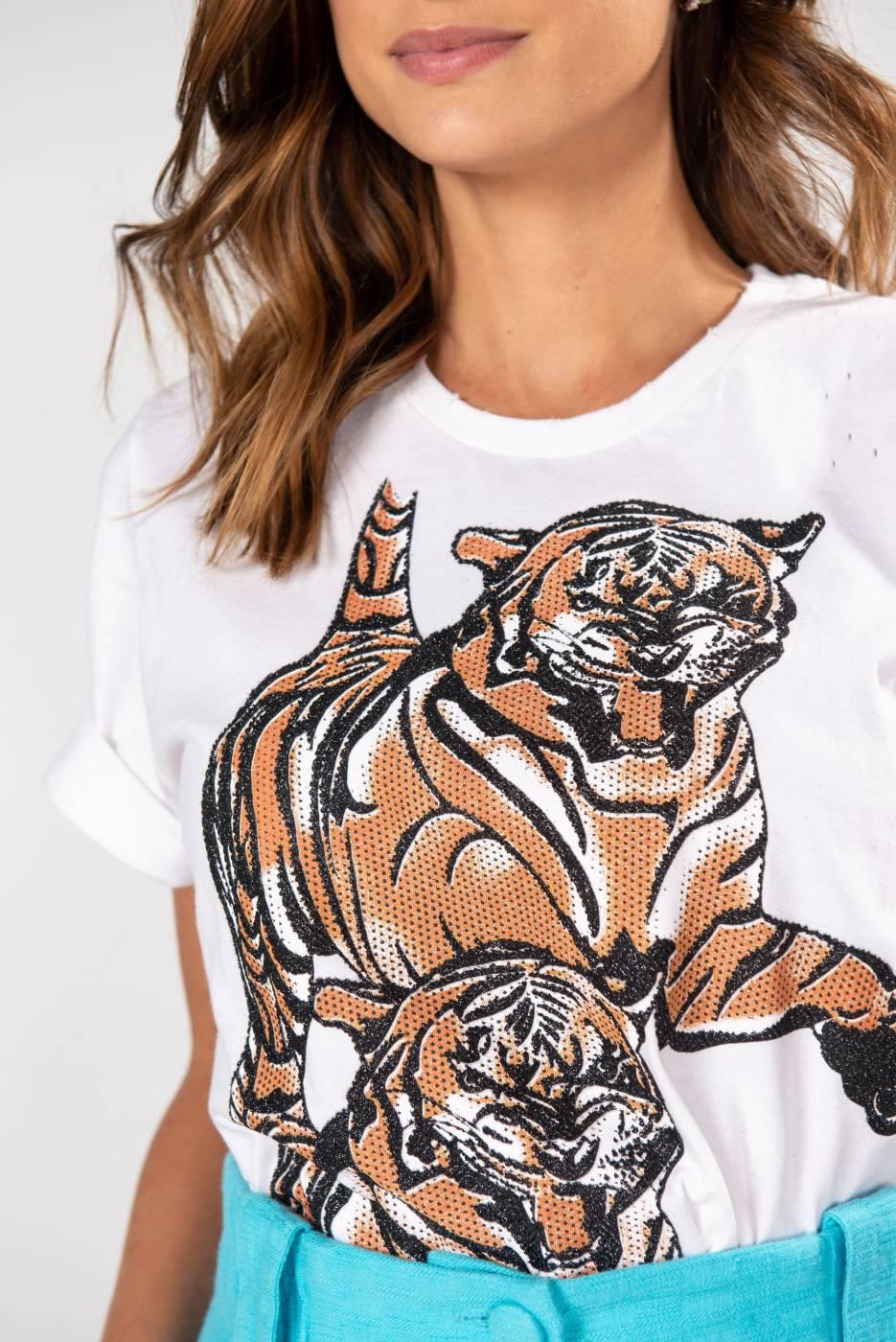 T-Shirt Fashion Tigre