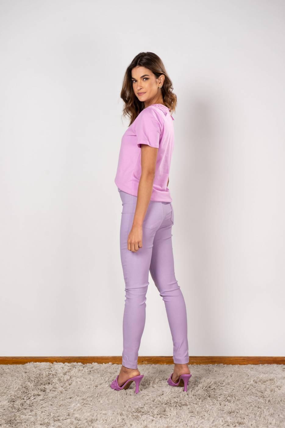 T-Shirt Gola Renda