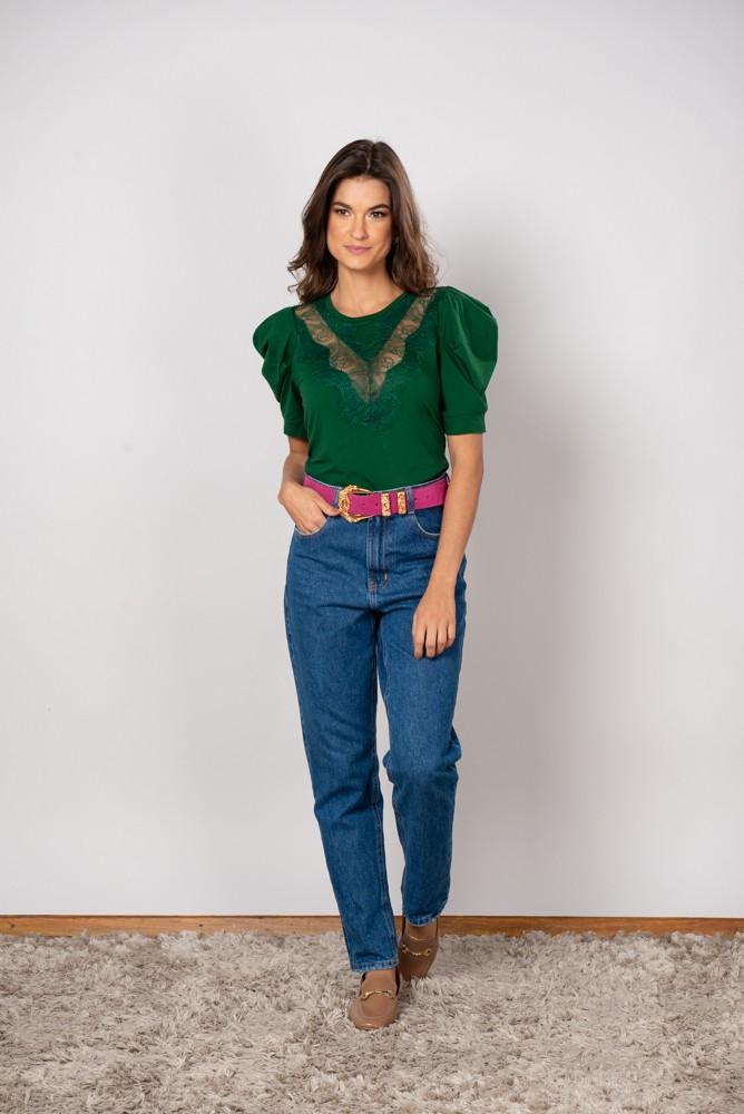 T-Shirt Renda Pillar