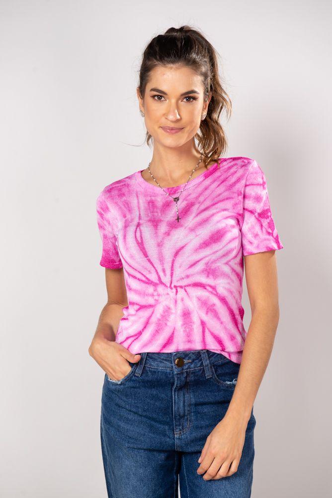 T-Shirt Tricot  Tie die Eliza