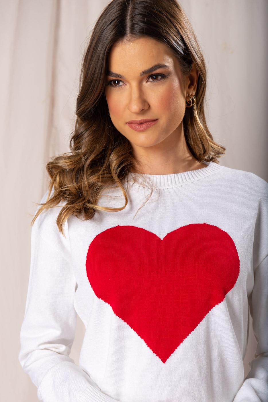Tricot Coração