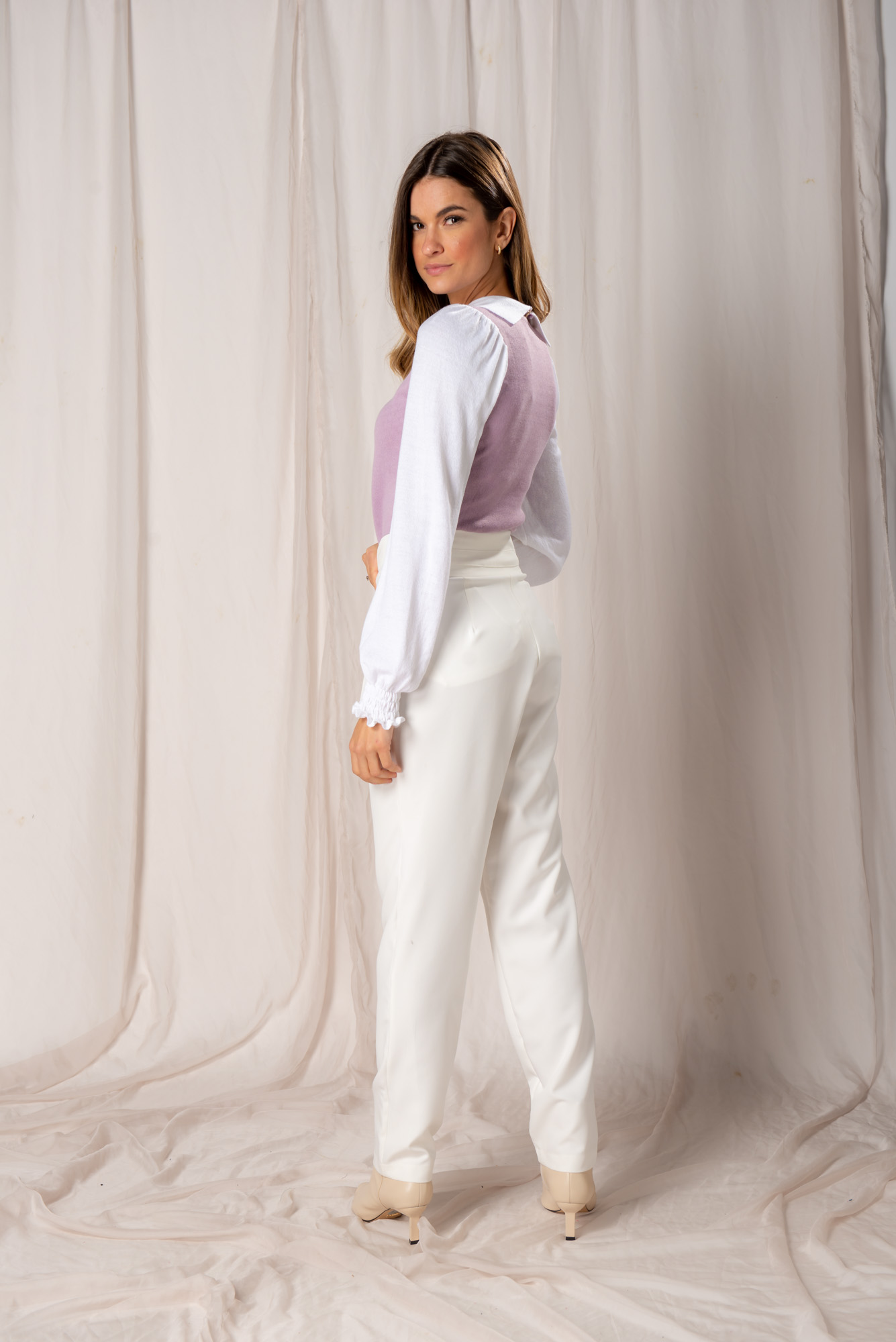 Tricot Efeito Camisa Dani
