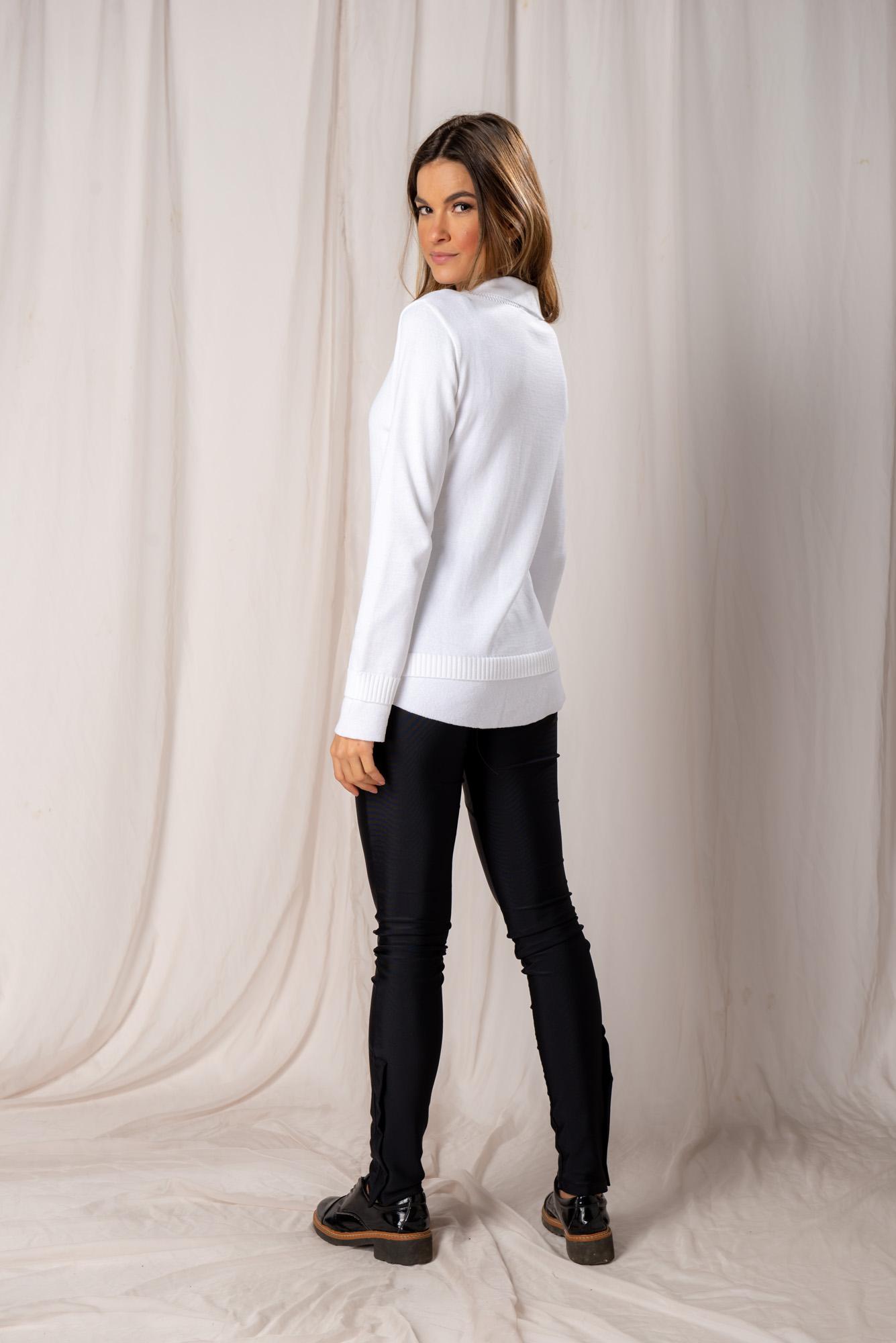 Tricot Efeito Camisa Laura
